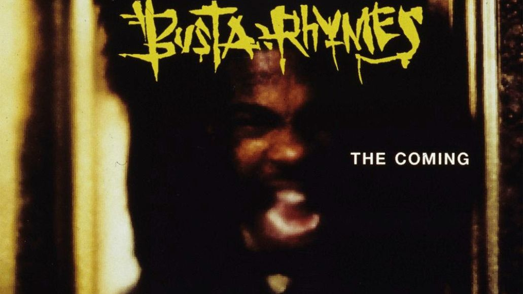 Busta Rhymes The Coming artwork