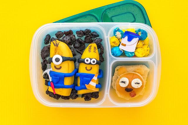 Comment faire une recette de déjeuner Banana Minions, Despicable Me!