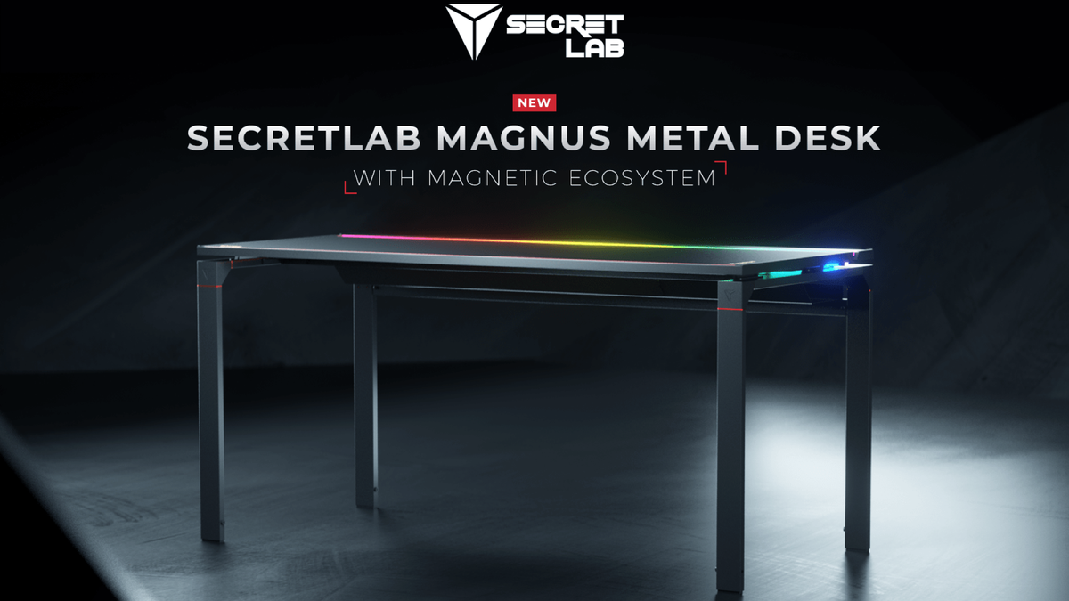 Bureau en métal Secretlabs Magnus