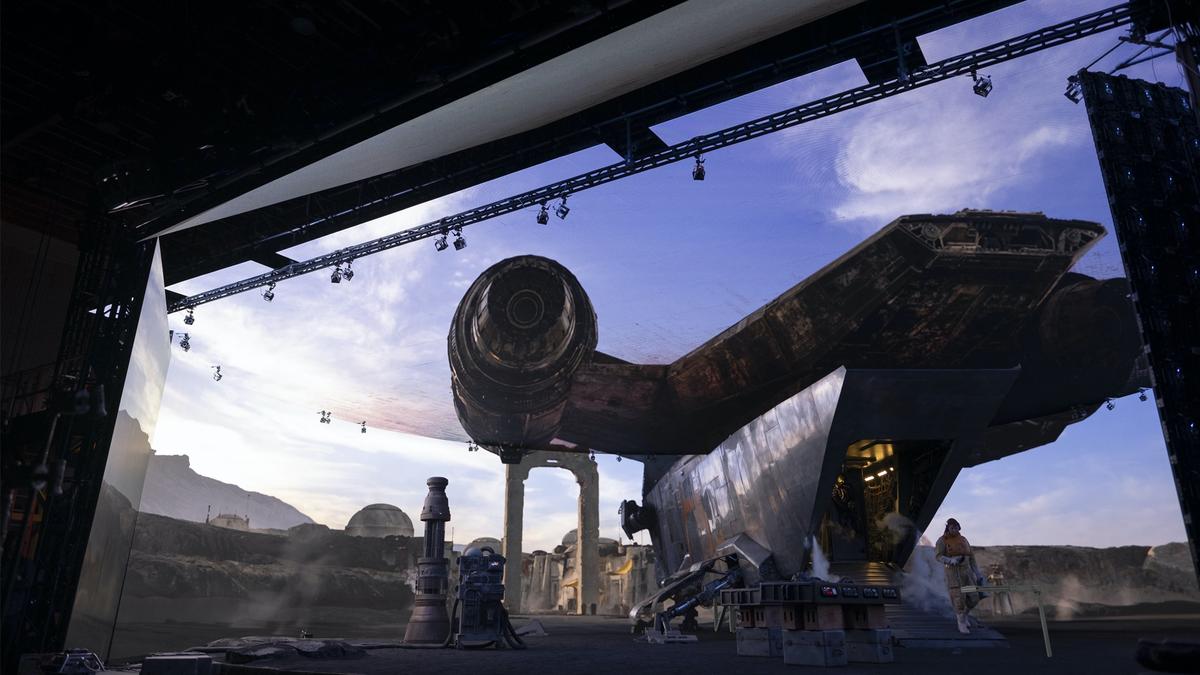 StageCraft d'ILM et la scène LED de volume