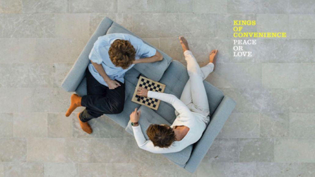 Paix ou amour par Kings of Convenience pochette d'illustration d'album