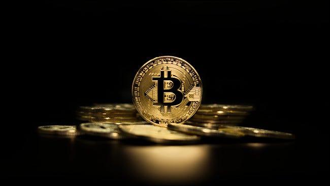 Un tas de Bitcoins
