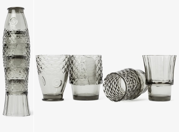 Verres empilables Koifish