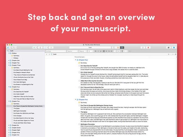 Scrivener 3 pour Mac