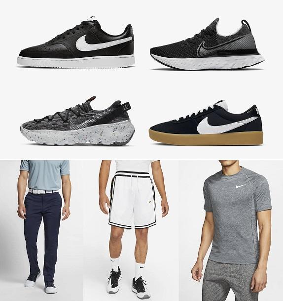 Baskets et vêtements pour hommes Nike