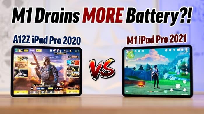 2021 M1 iPad Pro contre 2020 iPad Pro