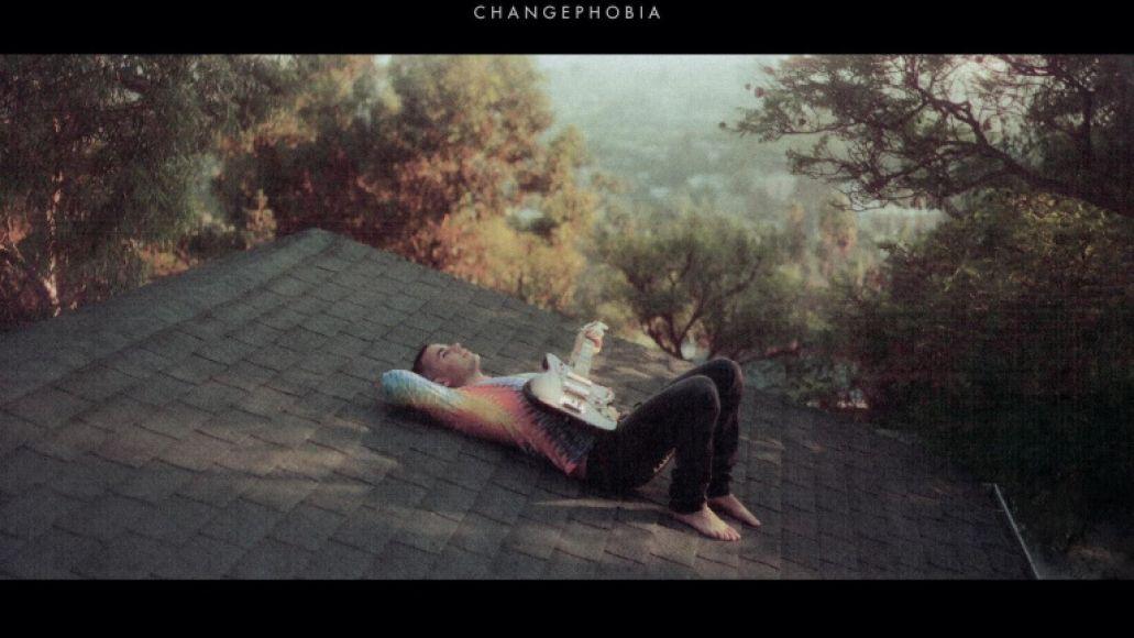 Changephobia par Rostam pochette de l'album