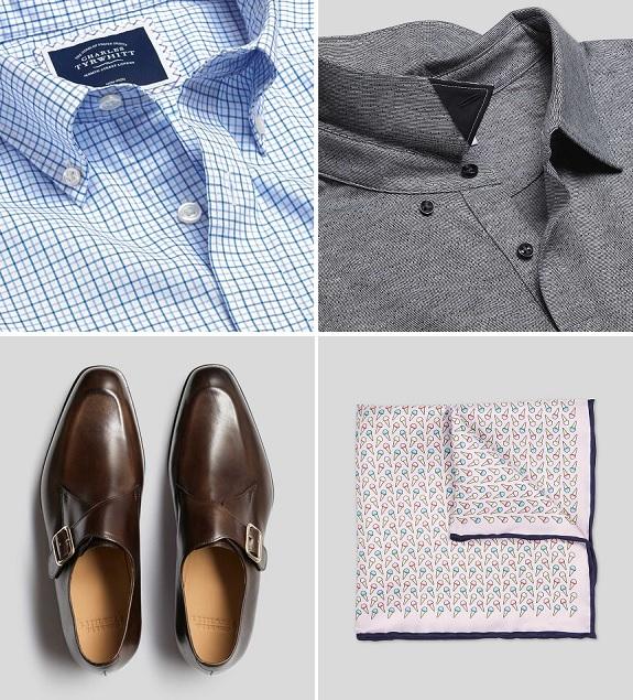 Charles Tyrwhitt vêtements pour hommes