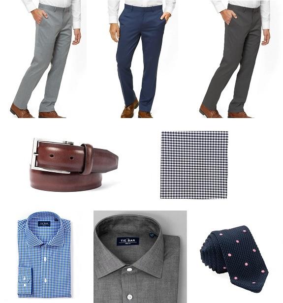 Les vêtements pour hommes de la barre à cravate