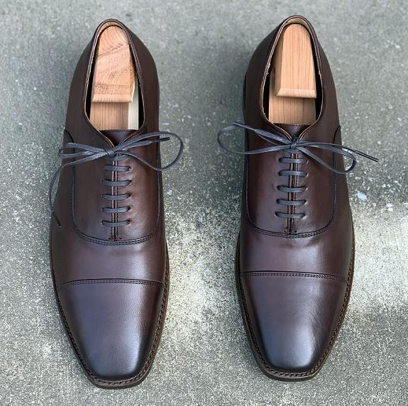 Thursday Boot Co. Executive Oxfords en châtaignier