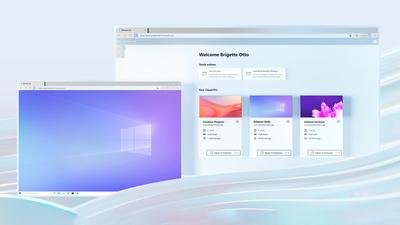 Un rendu de Windows 365 en action.