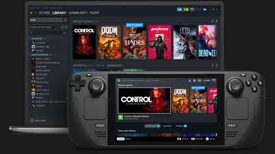 Le système de jeu portable de Valve, le Steam Deck