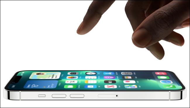 iPhone 13 Pro avec écran ProMotion